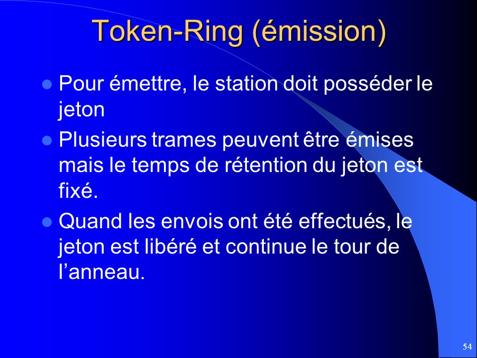 Token-Ring (émission)