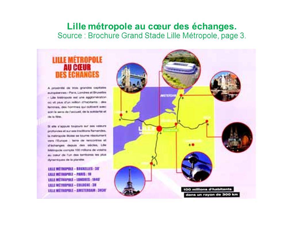 Lille métropole au cœur des échanges.