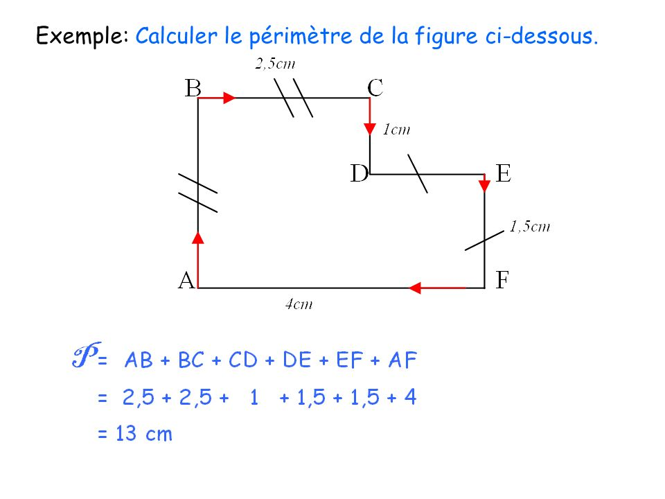 Chapitre 4 longueurs p rim tres cercles ppt video - Calculer des metre carre ...