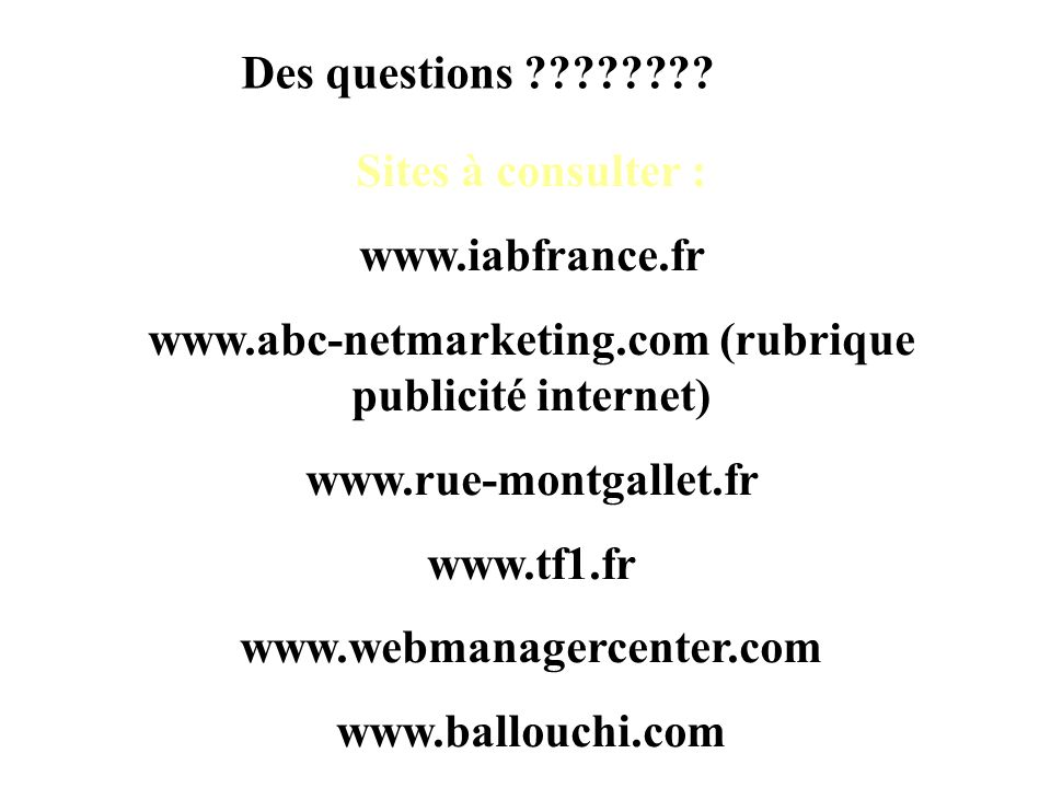 www.abc-netmarketing.com (rubrique publicité internet)