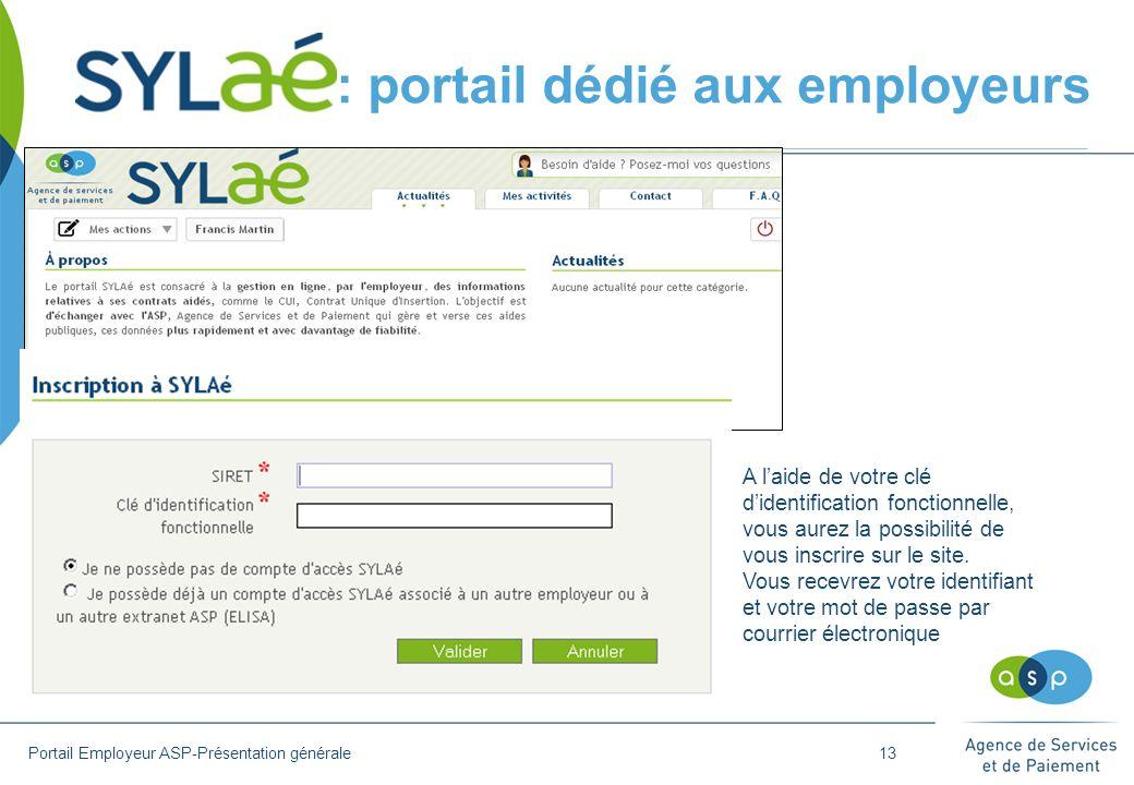 :: portail dédié aux employeurs