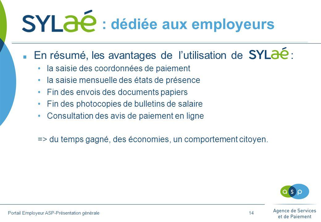 : dédiée aux employeurs