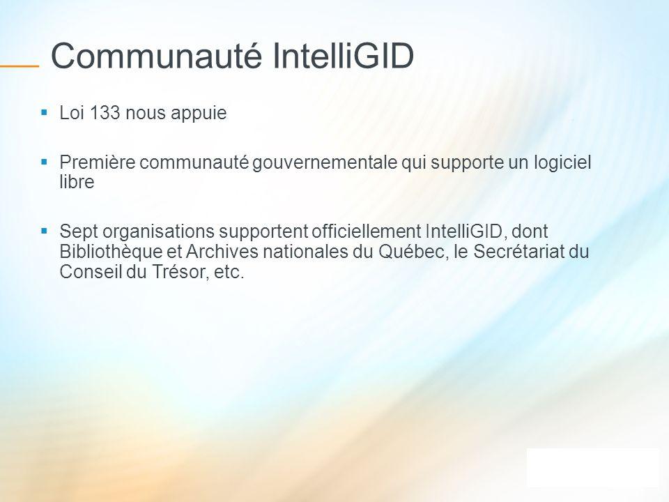 Communauté IntelliGID
