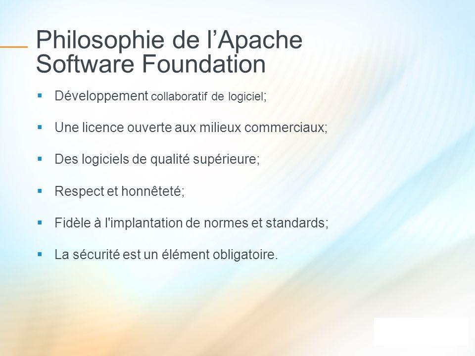 Philosophie de l'Apache Software Foundation