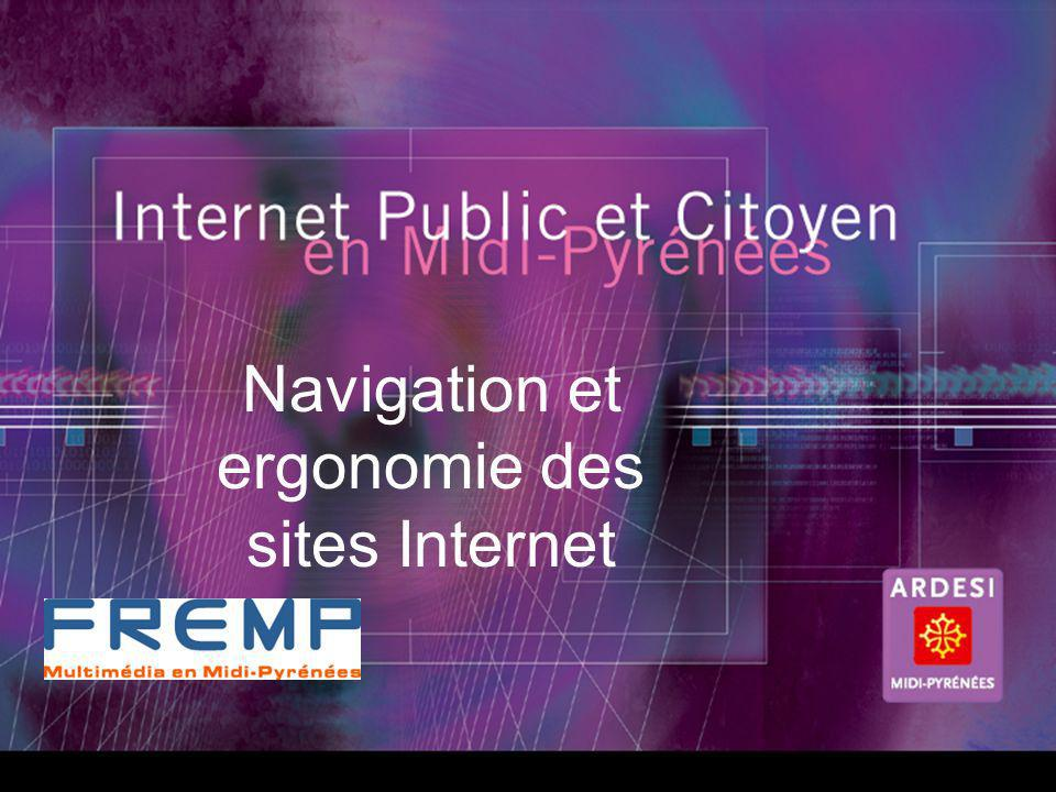 Navigation et ergonomie des sites Internet