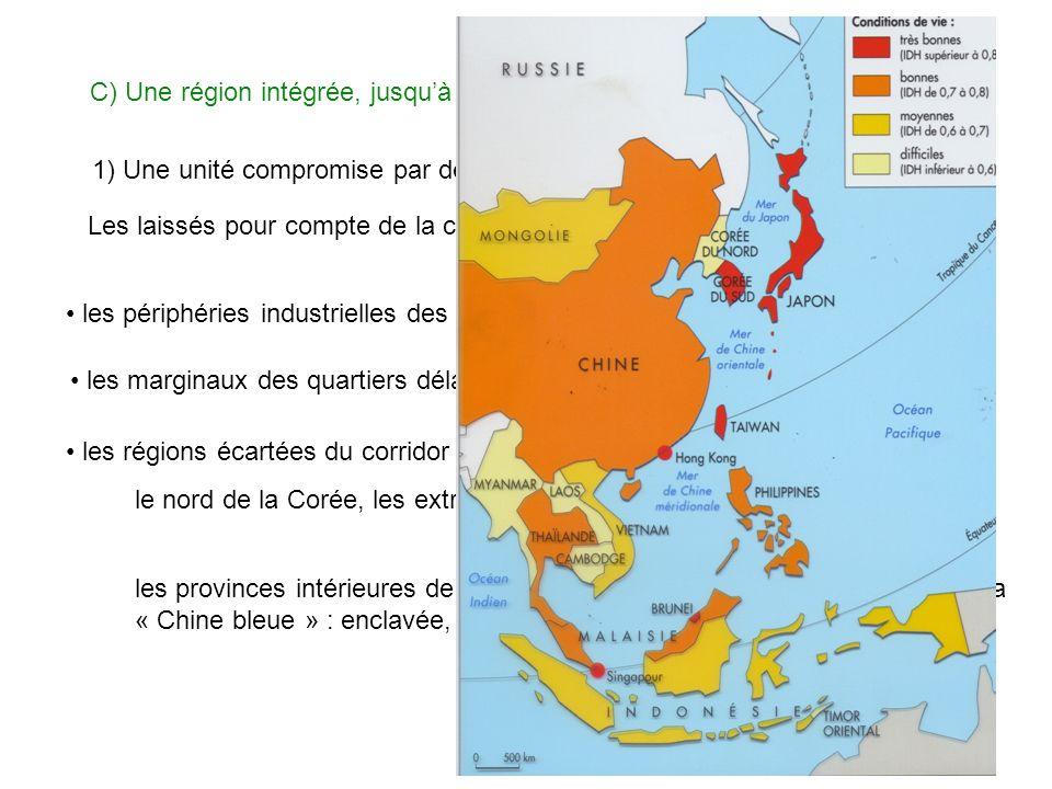 C) Une région intégrée, jusqu'à quel point