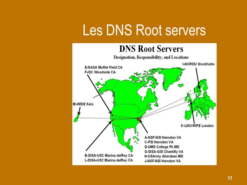 Les DNS Root servers
