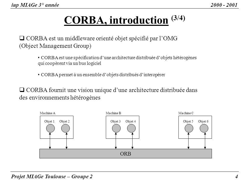 CORBA, introduction (3/4)