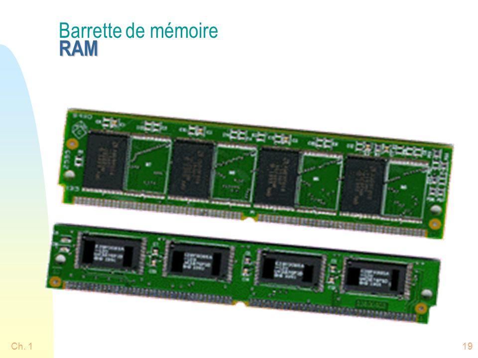 Barrette de mémoire RAM