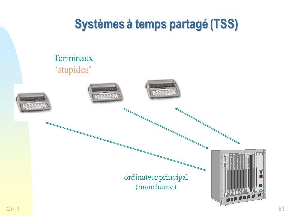 Systèmes à temps partagé (TSS)