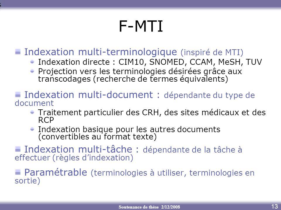 F-MTI Indexation multi-terminologique (inspiré de MTI)