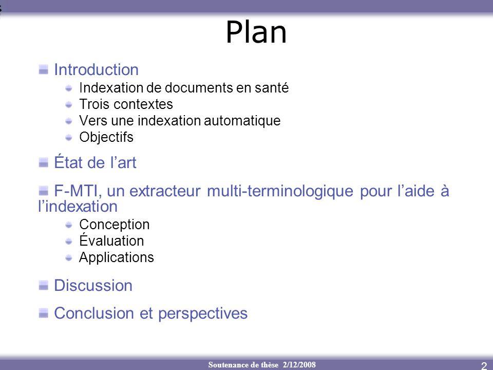 Plan Introduction État de l'art