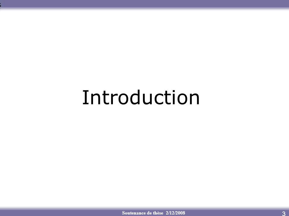 Introduction Soutenance de thèse 2/12/2008 3