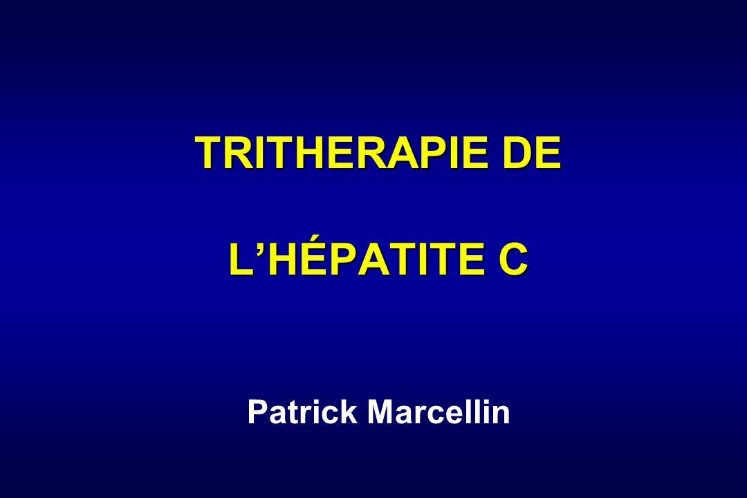 TRITHERAPIE DE L'HÉPATITE C Patrick Marcellin