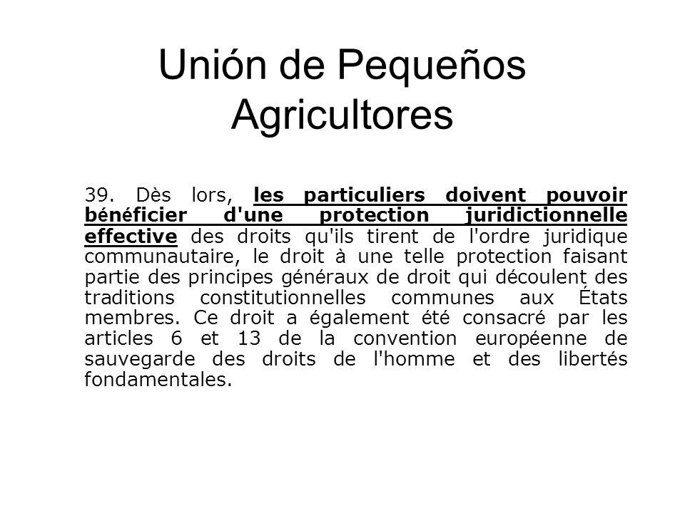Unión de Pequeños Agricultores