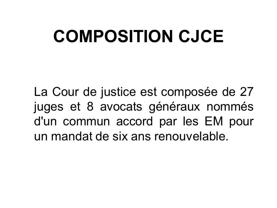 COMPOSITION CJCE