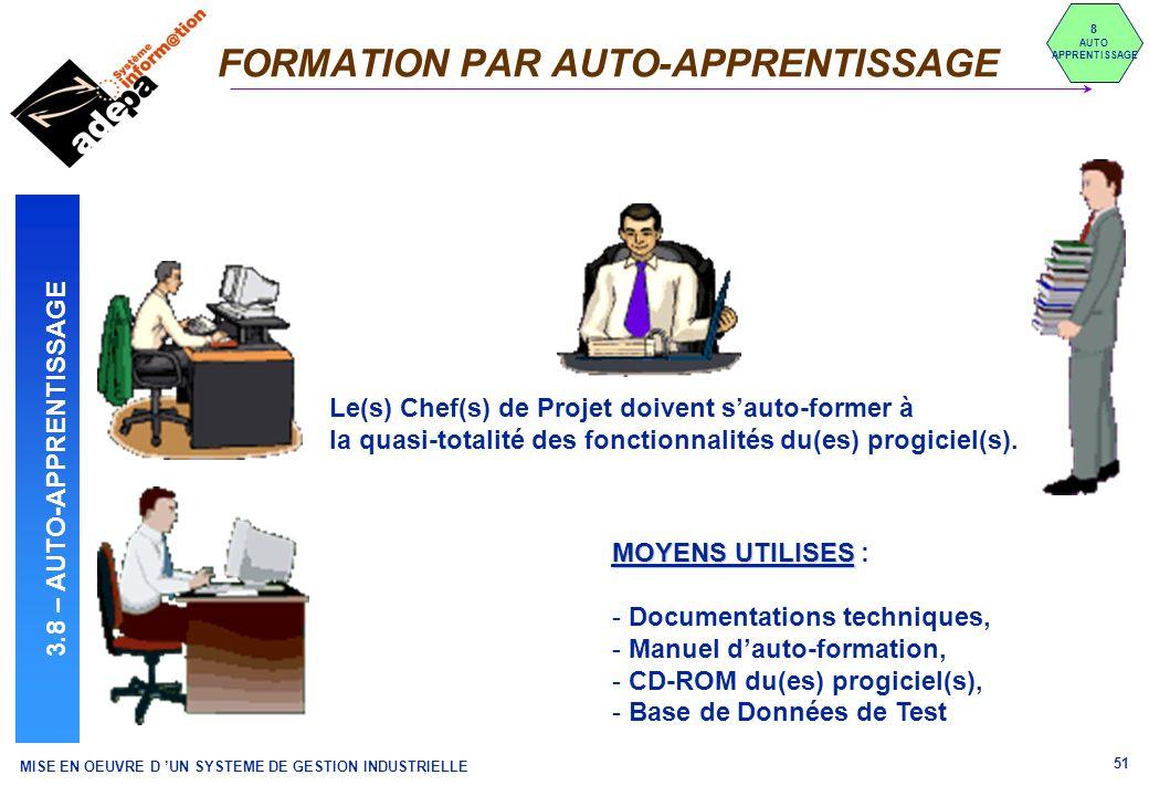 FORMATION PAR AUTO-APPRENTISSAGE