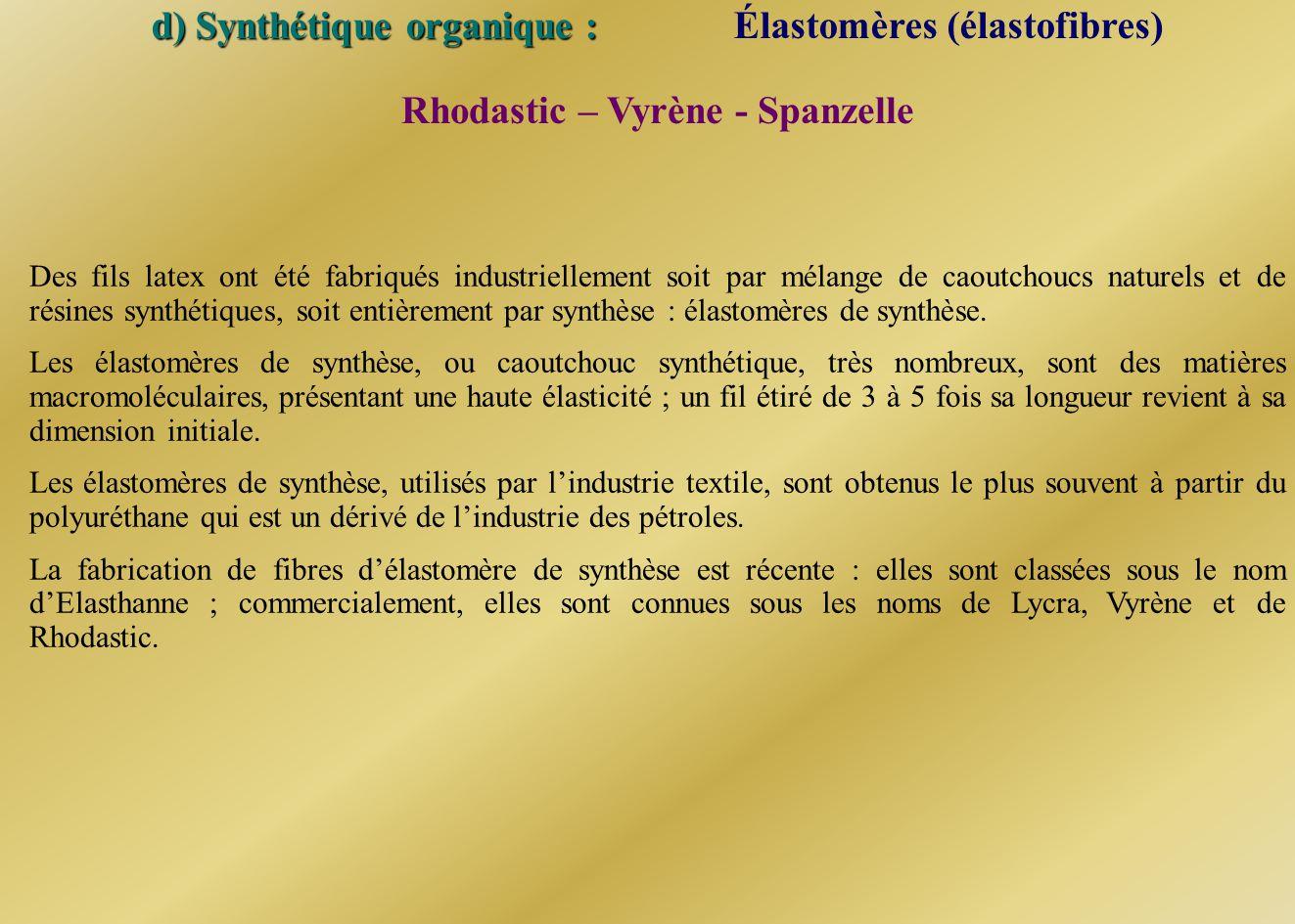 Rhodastic – Vyrène - Spanzelle