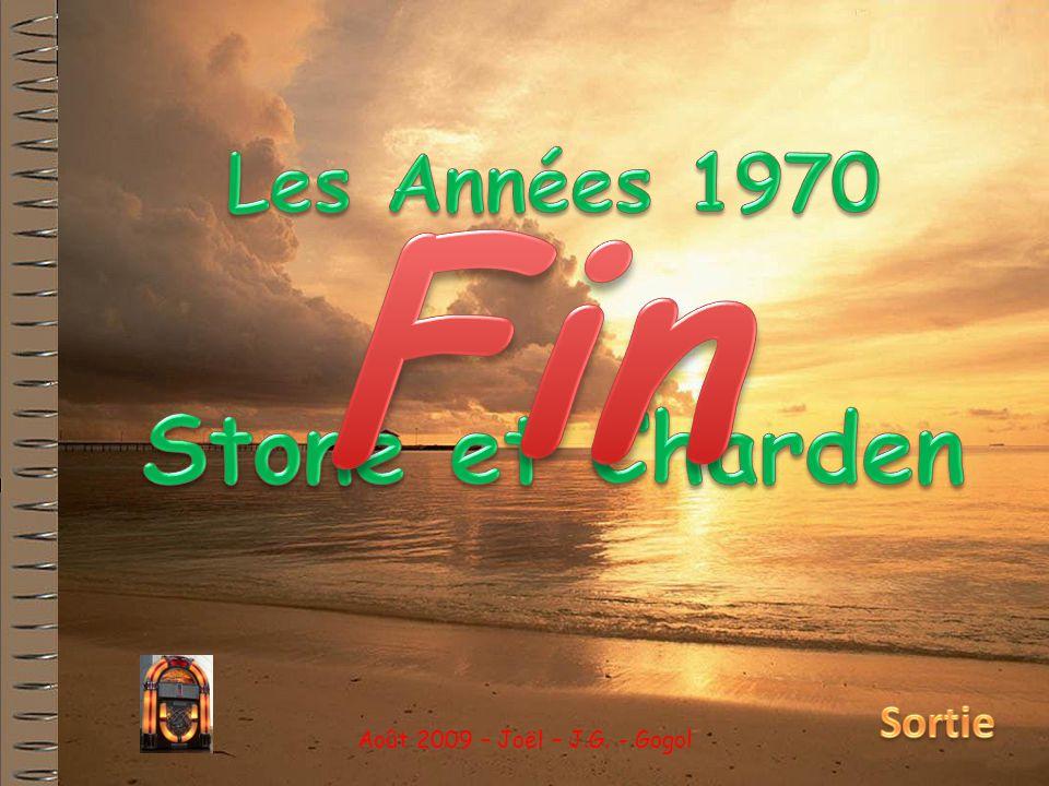 Fin Stone et Charden Les Années 1970 Sortie