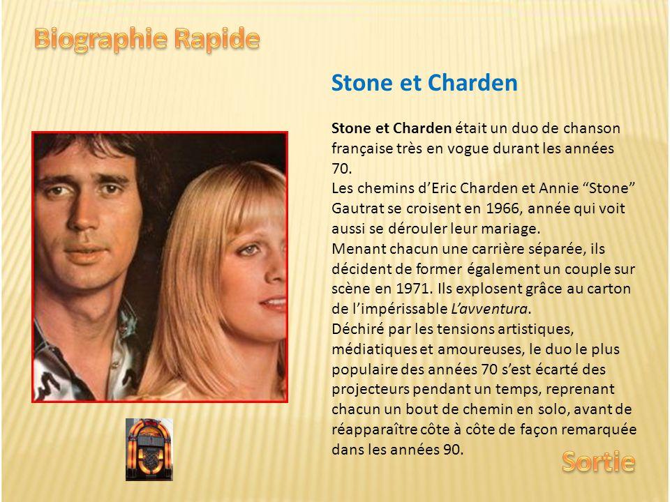 Biographie Rapide Sortie