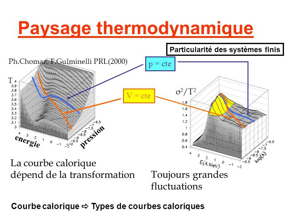 Paysage thermodynamique