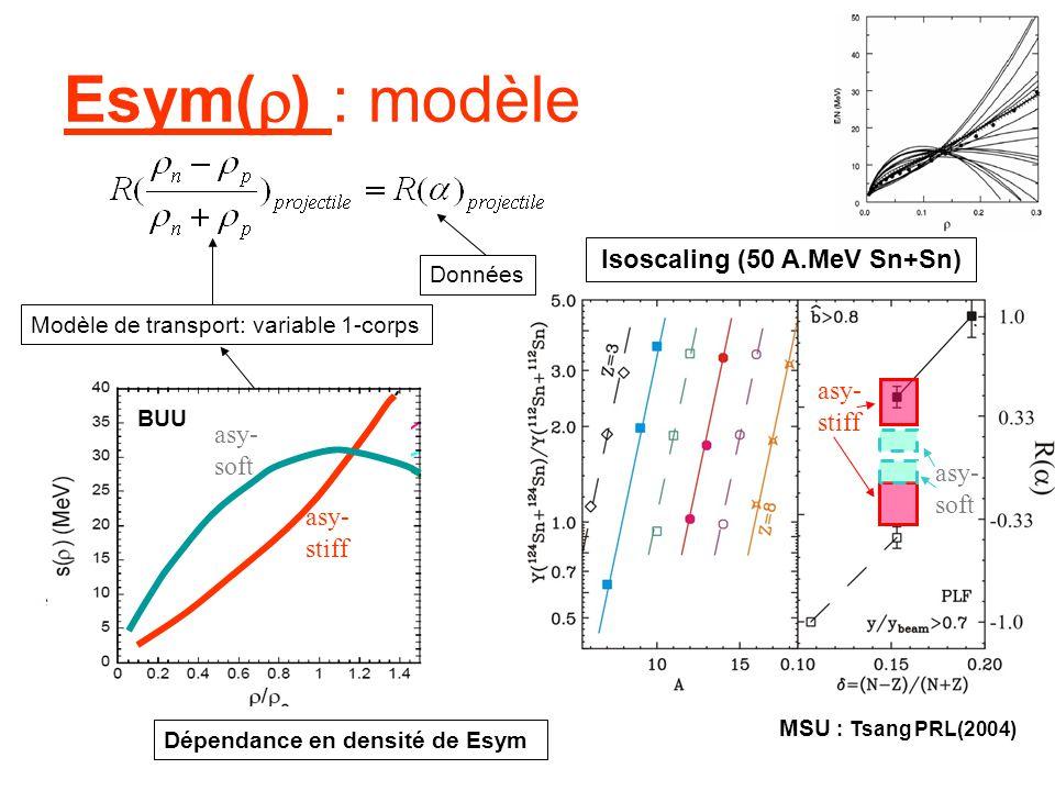 Isoscaling (50 A.MeV Sn+Sn)