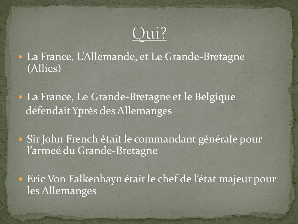 Qui La France, L'Allemande, et Le Grande-Bretagne (Allies)