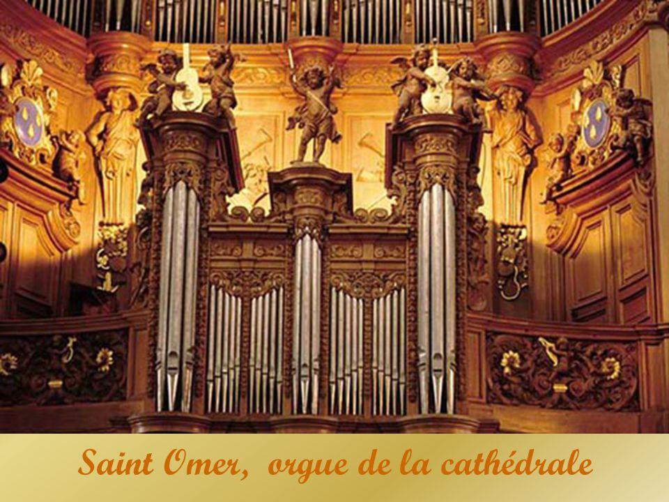 Saint Omer, orgue de la cathédrale