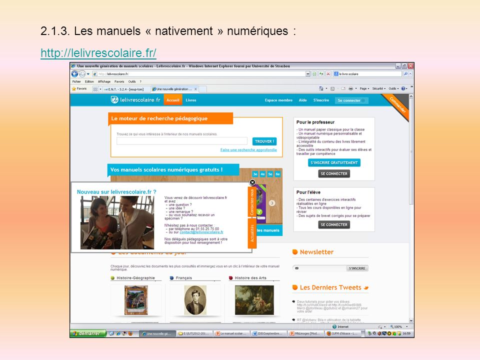2.1.3. Les manuels « nativement » numériques :
