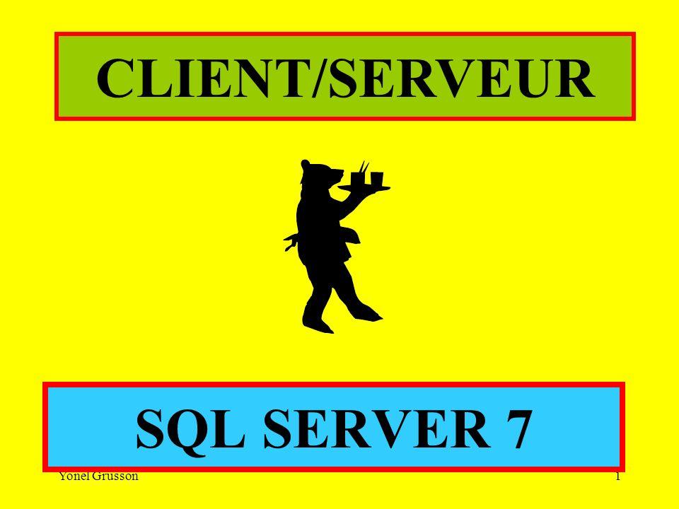 CLIENT/SERVEUR SQL SERVER 7