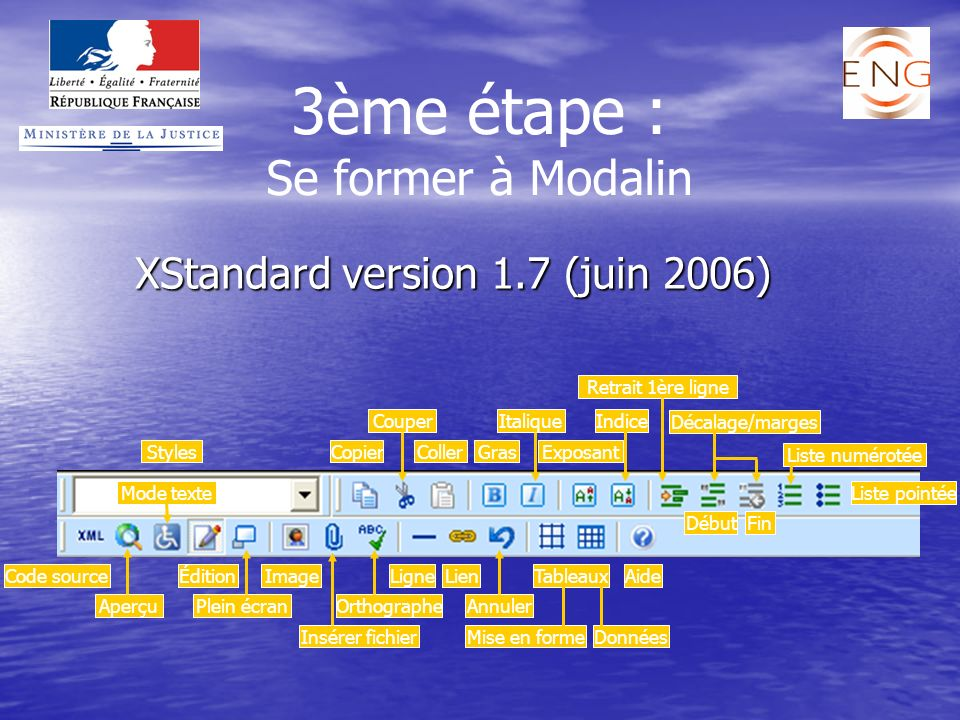 XStandard version 1.7 (juin 2006)