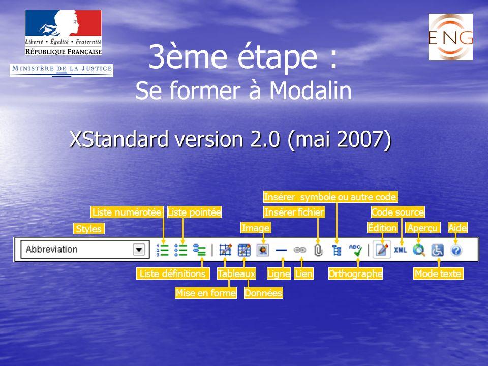 XStandard version 2.0 (mai 2007)