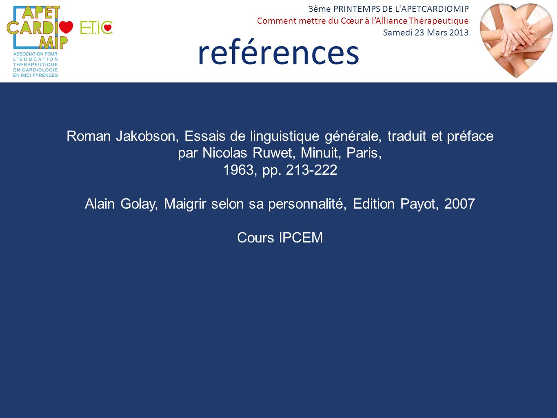 Alain Golay, Maigrir selon sa personnalité, Edition Payot, 2007