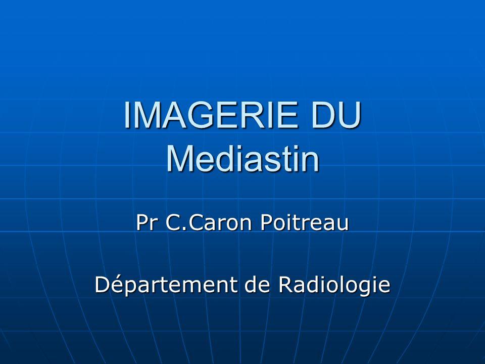 Pr C.Caron Poitreau Département de Radiologie
