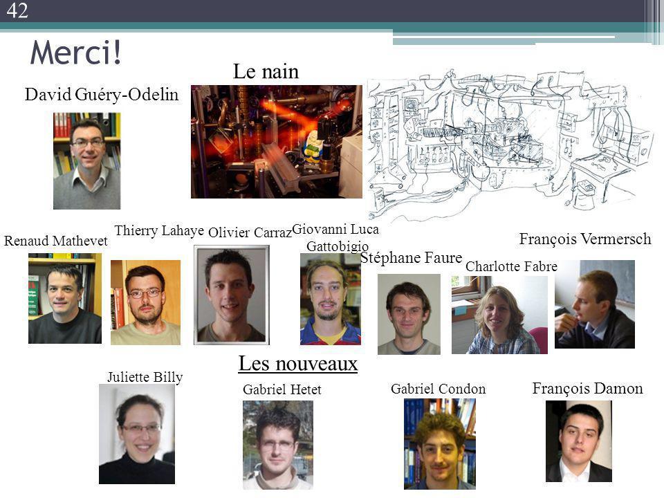 Merci! 42 Le nain Les nouveaux David Guéry-Odelin François Vermersch