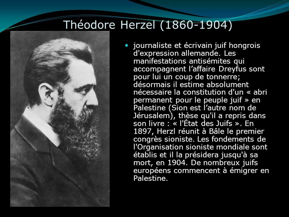Théodore Herzel (1860-1904)