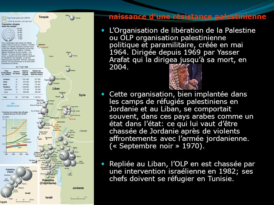 naissance d'une résistance palestinienne