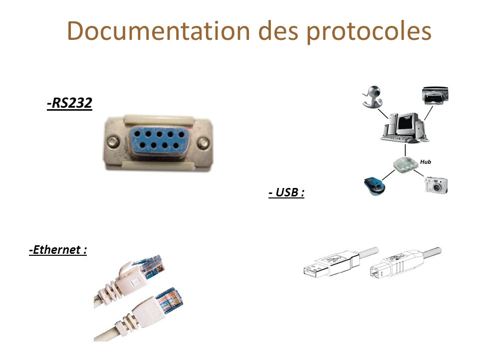 Documentation des protocoles