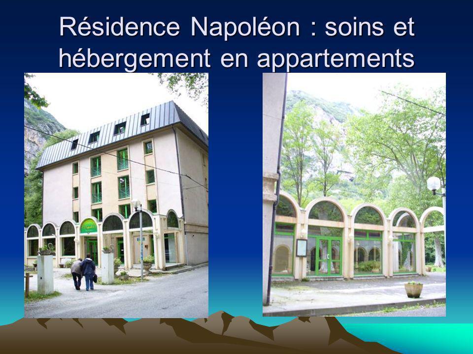 Résidence Napoléon : soins et hébergement en appartements