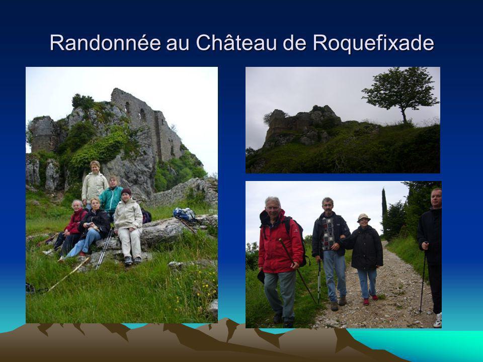 Randonnée au Château de Roquefixade
