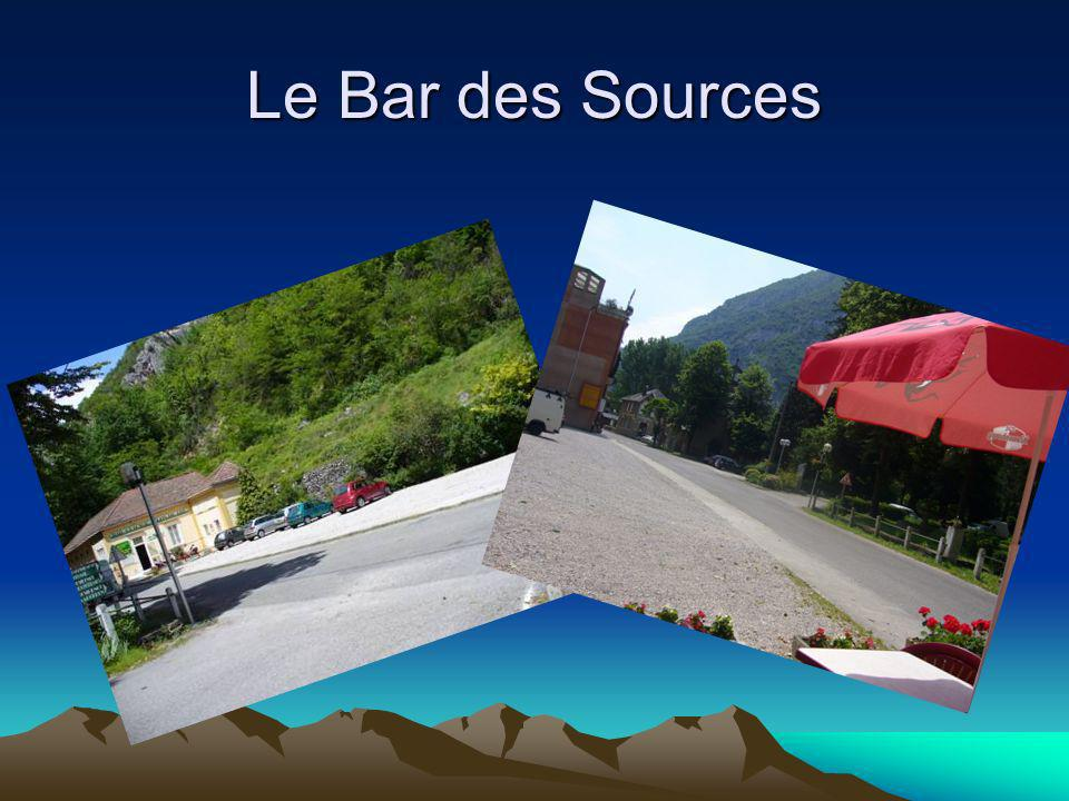 Le Bar des Sources
