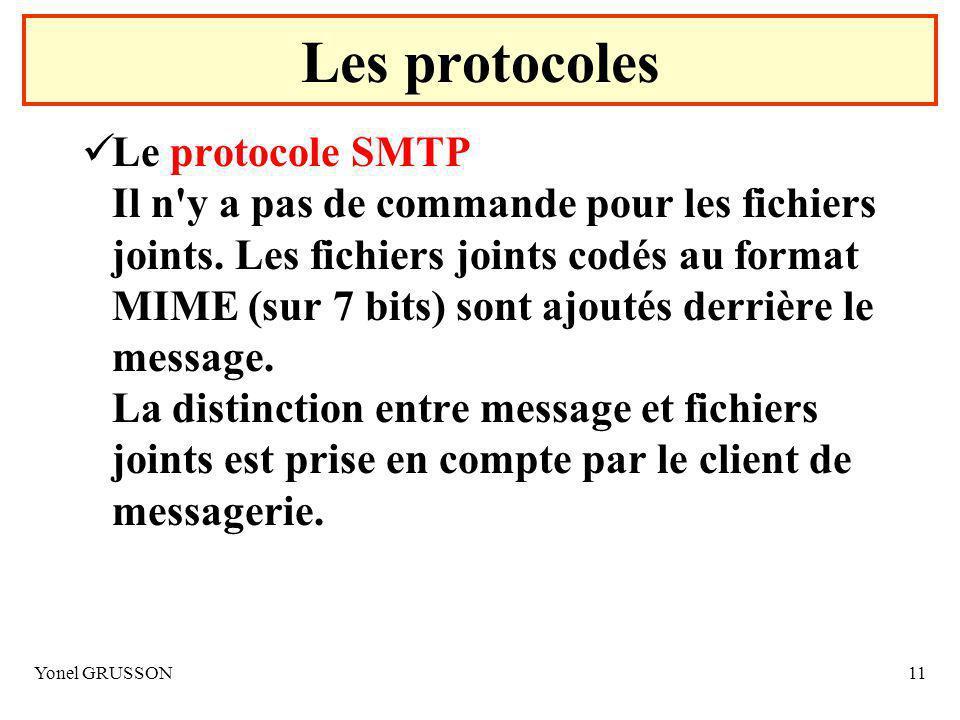 Les protocoles