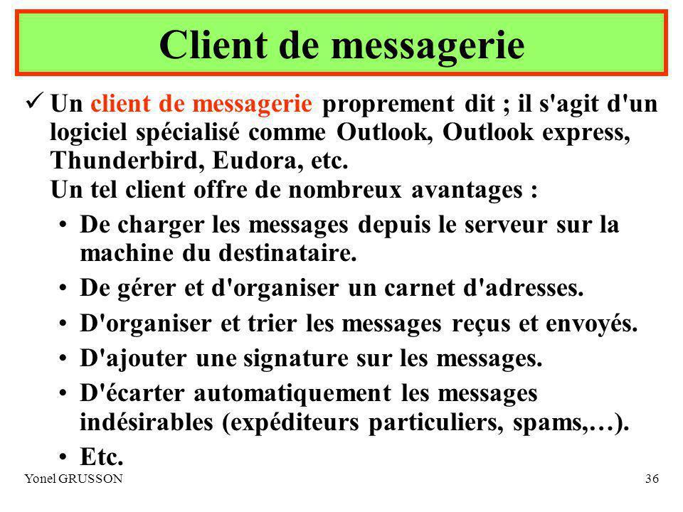 Client de messagerie