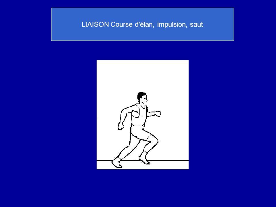 LIAISON Course d'élan, impulsion, saut