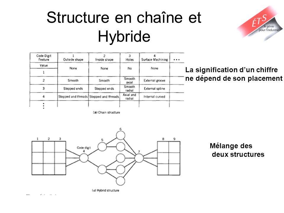 Structure en chaîne et Hybride