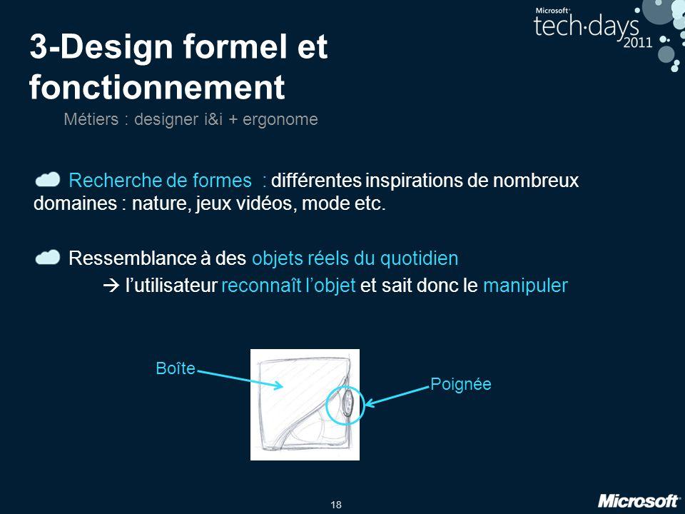 3-Design formel et fonctionnement