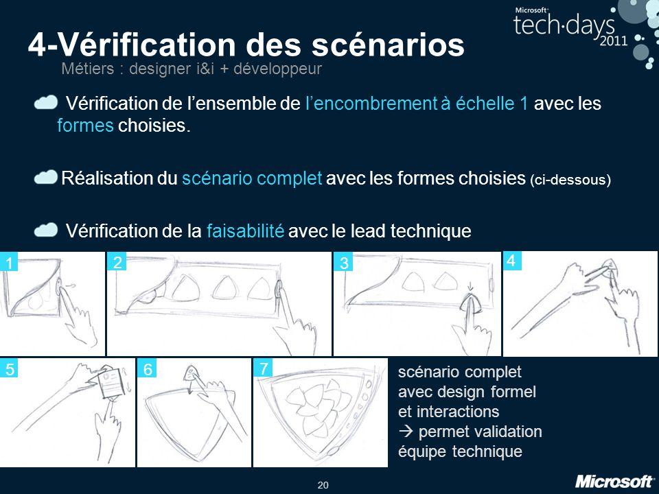 4-Vérification des scénarios
