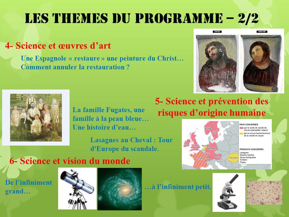 5- Science et prévention des risques d'origine humaine