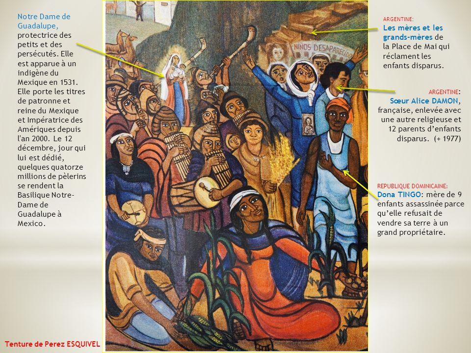 Notre Dame de Guadalupe, protectrice des petits et des persécutés