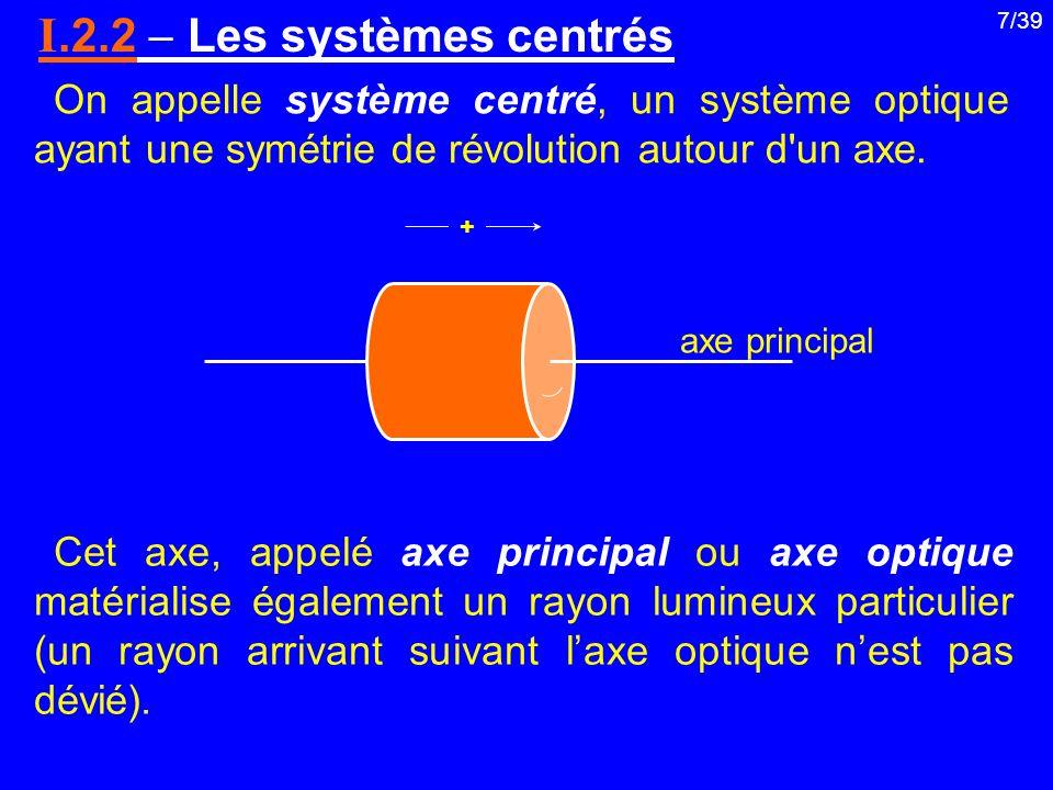 I.2.2  Les systèmes centrés